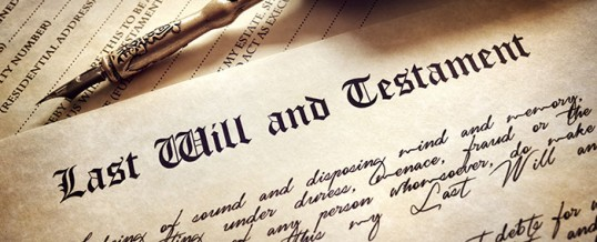Wills = where there's a will there's a taxman!